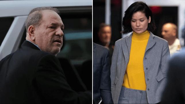 Harvey Weinstein and Tarale Wulff