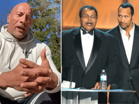 Dwayne Johnson confirms father Rocky's cause of death as 'massive heart attack'