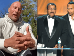 Dwayne Johnson reveals 'nothing prepared him for this' as he writes late father's eulogy