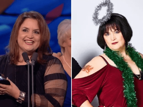 Gavin and Stacey's Ruth Jones channels inner Nessa to confront Tom Jones as she accepts impact award at NTAs