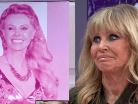 Piers Morgan and Susanna Reid left red-faced over wrong picture of guest Britt Ekland on Good Morning Britain