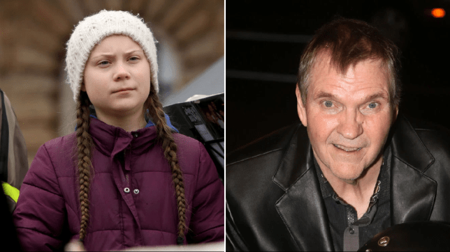 Greta Thunberg and Meat Loaf