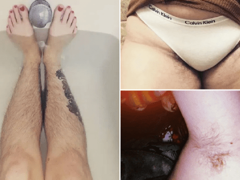 Women explain why they are showing off their hairy bodies on Instagram this Januhairy