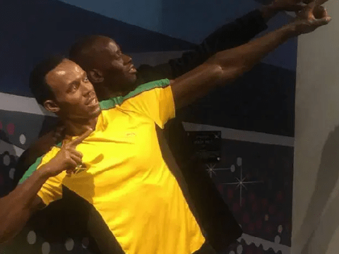 What it's like to be Usain Bolt's body double