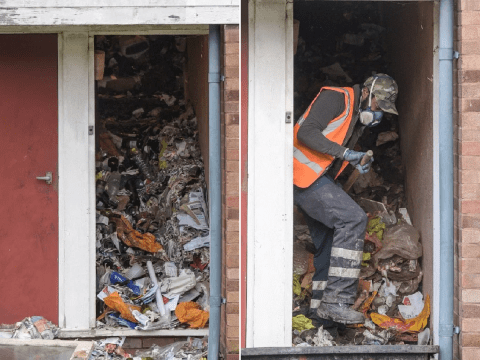 Hoarder found dead among tonnes of junk in his home