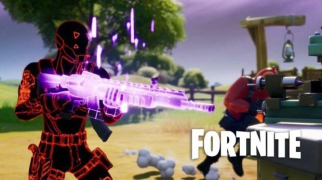 Fortnite heavy assault rifle