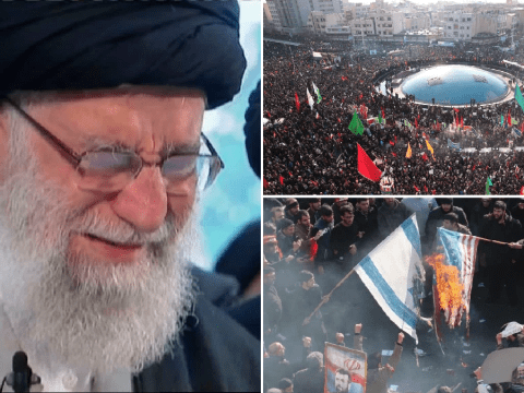 'Millions' of mourners pack streets for funeral of dead Iranian general