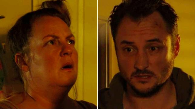 Karen Taylor and Martin Fowler in EastEnders