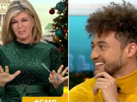 Kate Garraway confesses she stalks Myles Stephenson's Insta after I'm A Celebrity: 'The restraining order's coming!'