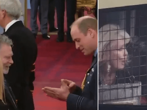 Deaf interpreter famous for scaring Coronation Street's Liz thanked in sign language by Prince William