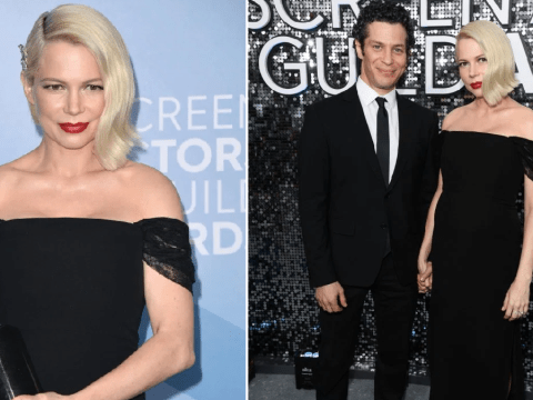 SAG Awards 2020: Michelle Williams hits red carpet with 'fiance' Thomas Kail amid pregnancy