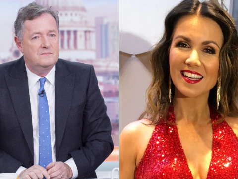 Piers Morgan gets FOMO after seeing Susanna Reid's NTAs outfit – as he boycotts awards