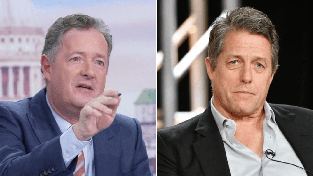 Piers Morgan brands Hugh Grant 'disgusting' for saying 'Britain's finished'