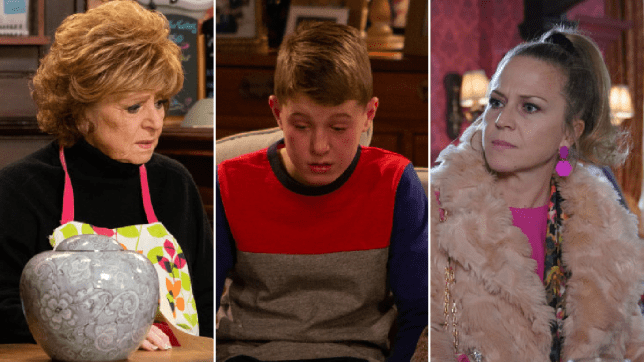 Rita in Coronation Street, Arthur in Emmerdale and Linda in EastEnders