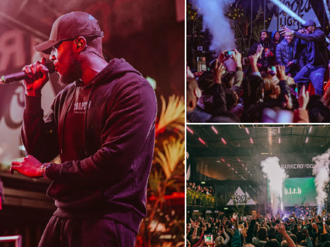 Stormzy performs energetic surprise gig in Croydon to thank loyal fans