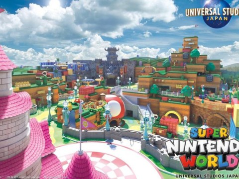 Super Nintendo World theme park to open this summer where fans can enter 'life-size, living video game'