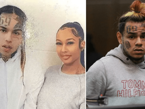 Tekashi 6ix9ine pictured wearing 'prison overalls' for first time since sentencing