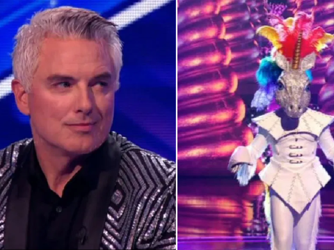 Dancing On Ice's John Barrowman pretty much confirms he's The Masked Singer's Unicorn