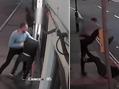 Moment man stamps on stranger's head in 'calculated and cold-blooded attack'
