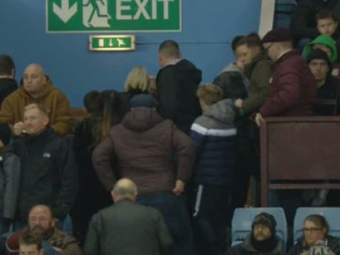 Aston Villa fans leave stadium after only 28 minutes as Manchester City run riot