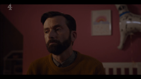 David Tennant as Tom Kendrick in Deadwater Fell