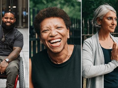 Photographer fights 'shocking lack of diversity' in wellness industry with stunning images