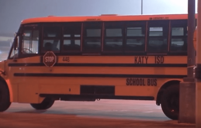 File photo of bus from Katy Independent School District