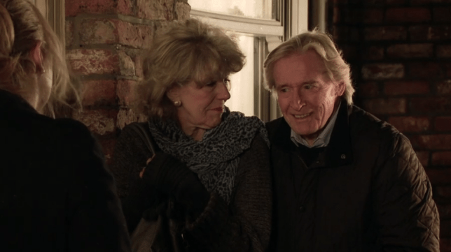 Ken and Audrey in Coronation Street