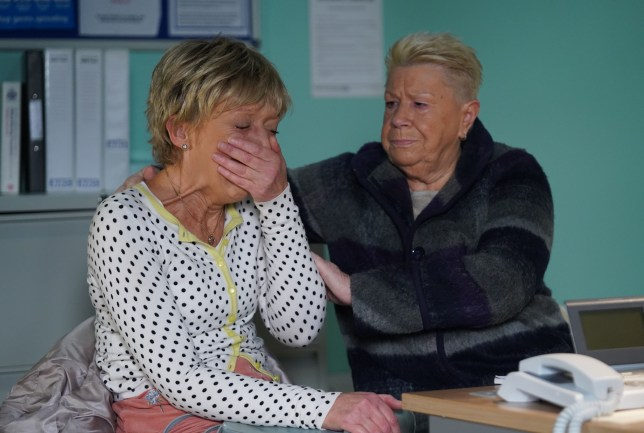 Jean and Mo in EastEnders