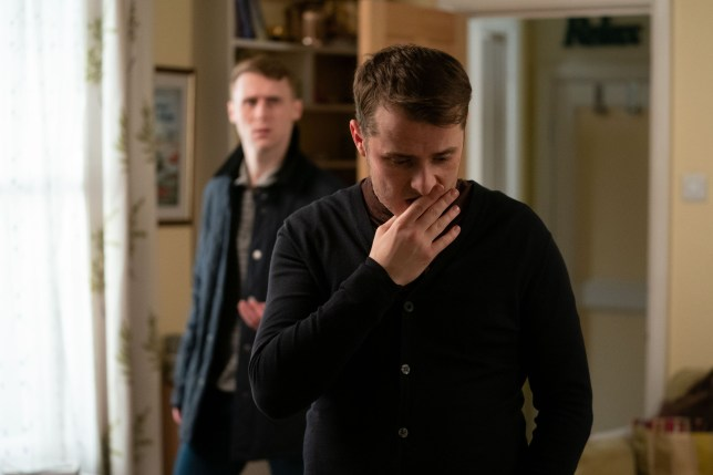 Ben is worried about Callum in EastEnders