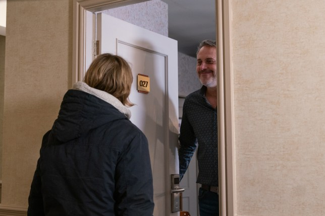 Ray and Abi in Coronation Street