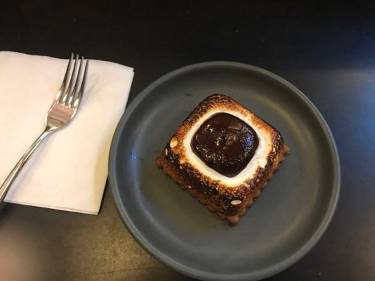 Smore at Dandelion Chocolates in San Francisco