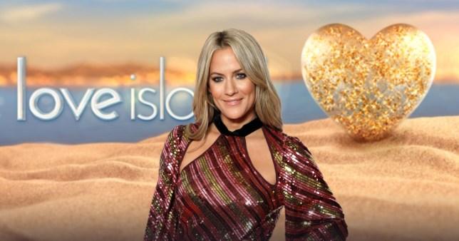 Caroline Flack on Love Island