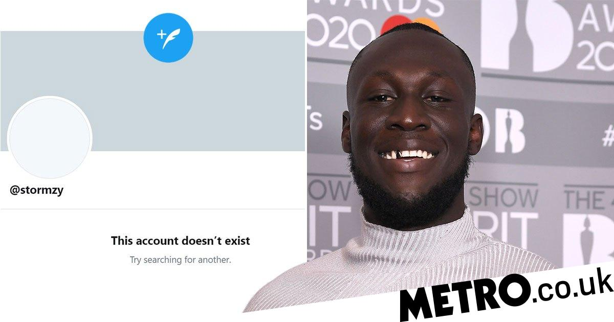 Stormzy deletes Instagram and Twitter account as he disappears from social media