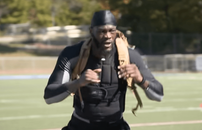 Deontay Wilder 'heavy outfit' excuse exposed