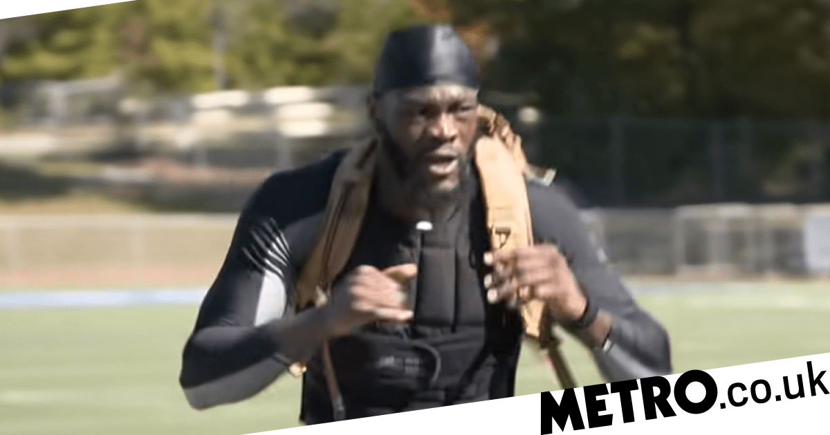 Deontay Wilder's 'heavy outfit' excuse exposed in unearthed interview - Metro.co.uk