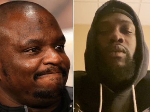 Dillian Whyte brands Deontay Wilder 'pathetic' for comeback vow to fans