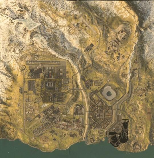 Call Of Duty: Modern Warfare battle royale map