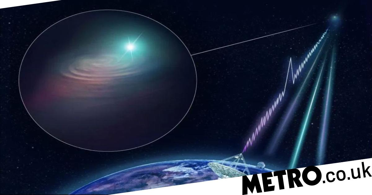 Mysterious repeating deep space signals may have been produced by aliens, astronomer says - metro