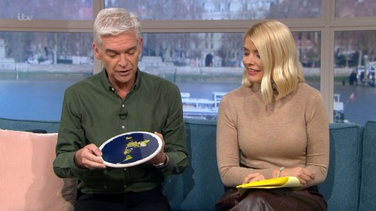 This Morning's Flat Earther Holly and Phil