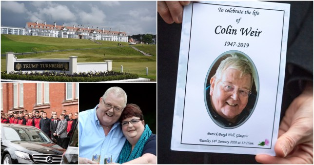 Colin Weir died in December from kidney failure and sepsis