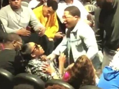 Gervonta Davis violently grabs mother of his child by the neck after row at charity event