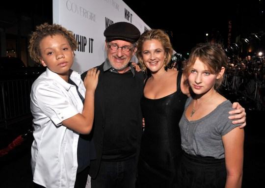 Mikaela and Steven Spielberg