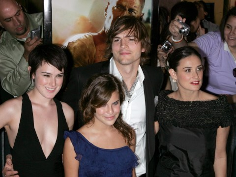 Ashton Kutcher 'will never stop loving' Demi Moore's kids after divorce and cheating claims