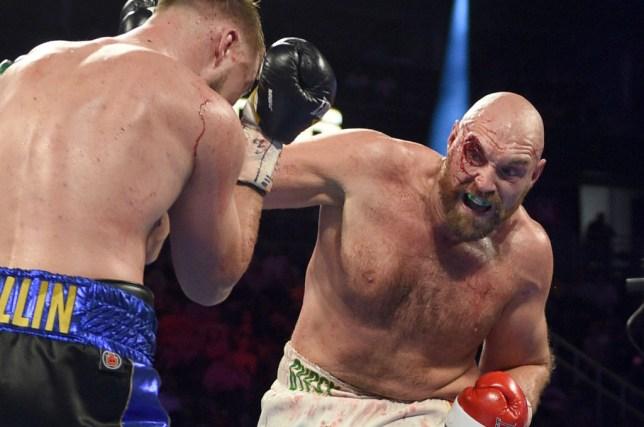 Tyson Fury fights Otto Wallin