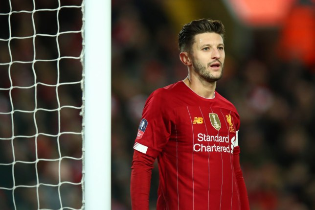 Lallana has been linked with a summer transfer move to Arsenal (Getty Images)