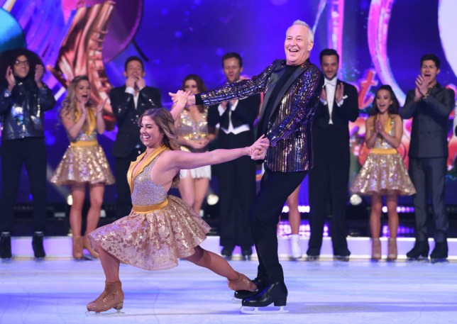 michael barrymore on dancing on ice