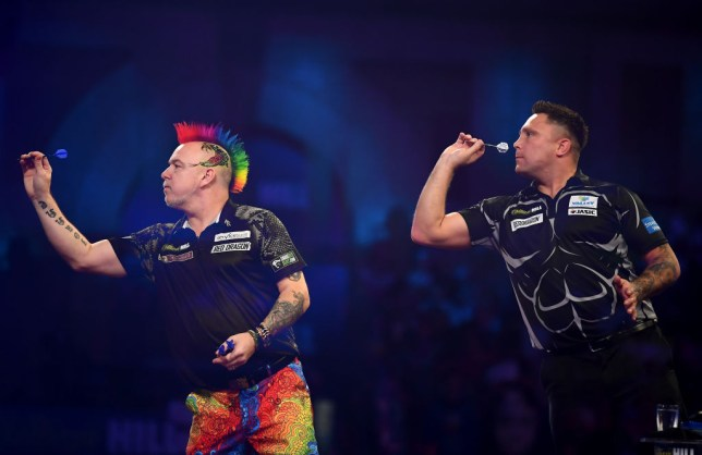Gerwyn Price Peter Wright
