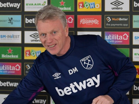 David Moyes gives Manchester United hope over Declan Rice transfer deal