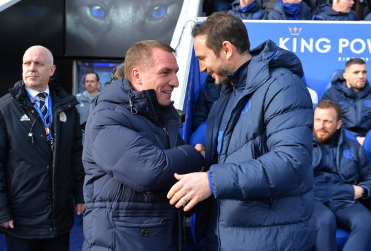 Frank Lampard gatecrashes Brendan Rodgers interview after Chelsea draw |  Metro News